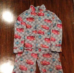 Lightning Mcqueen 2pc Pajama Set BOYS xs 4/5
